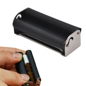 Metal cigarette maker Joint Roller Machine Size 70mm Blunt Fast Cigar Rolling Cigarette simple cigarette making machine