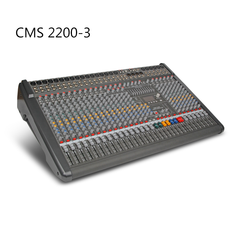 CMS2200 3 Professional Audio Mixer console Stage Party Band playing Sound studio Audio Processing|Stage Audio| |  - title=