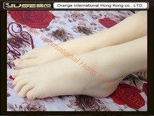 Высокое качество новый продукт секса, мягкие ноги фетиш игрушки для парня, реалистичного женских ног манекен, поддельные ноги модель для носок, FT-3600-1