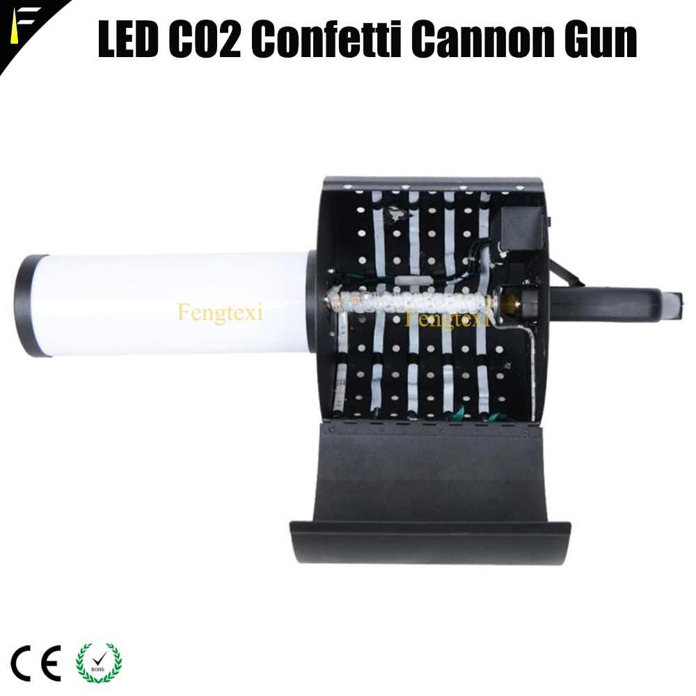 confeti CO2 RGB seco pistola de hielo Led Jet columna mano oWrdCxBe