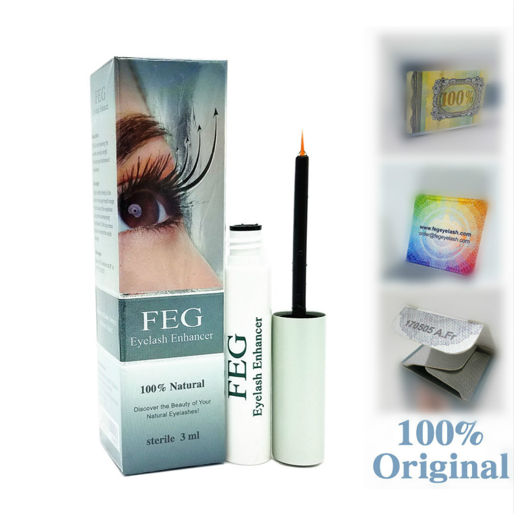 FEG Eyelash Enhancer 100% Original FEG Eyelash Growth Treatment Eyelash Enhancer Serum Eyelash Liquid Genuine FEG Dropshipping