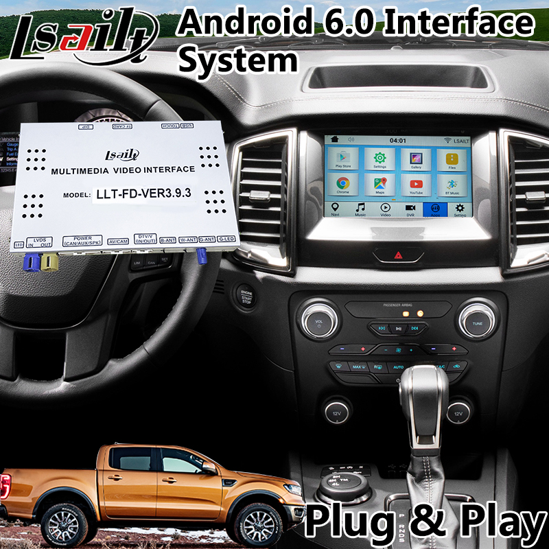 US $550 0 |Android 6 0 GPS Navigation Interface for Ford Ranger SYNC 3  System 2016 2018-in Vehicle GPS from Automobiles & Motorcycles on