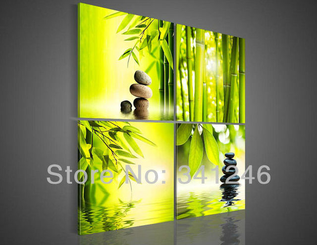 Hand painted Hi Q wall art home decorative flower oil painting on ...