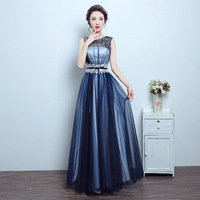 Elegent Vintage Sleeveless Tank Stain Dress Shining Beading Backless Party Club Night Floor Length Long Dresses Women