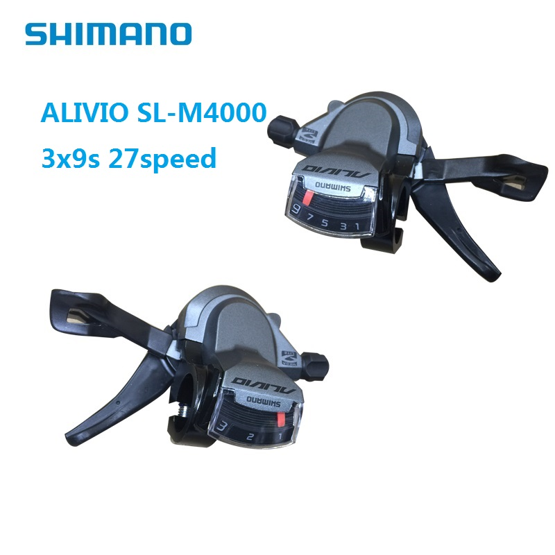 Bicycle Derailleur SHIMANO ALIVIO SL M4000 3S 9S 27Speed Shift Lever Hydraulic Disc MTB Mountain Bike Speed Shifting Accessories