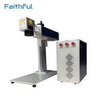 Portable Logo Mini Fiber Laser Marking Machine Fiber Marker Laser Engraving Machine 20W