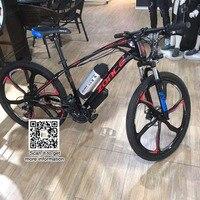 350 Вт 46 в двигатель 48 В 10.4AH батарея 26 дюймов горный велосипед e велосипед шины батарея велосипед Мужчины mtb