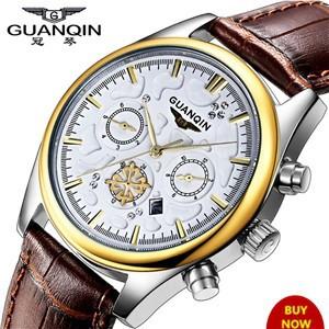 GUANQIN-Watches-Men-Top-Brand-Luxury-Quartz-Watch-Sports-Leather-Strap-Waterproof-Multifunctional-Watch-Relojes