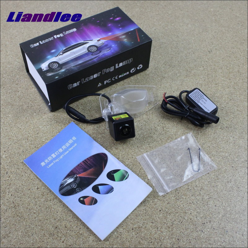 Liandlee Car Light For Honda For CRV For CR-V 2007~2010 Laser Shoot Lamp Prevent Warning Lights Fog Tail Decorative Light