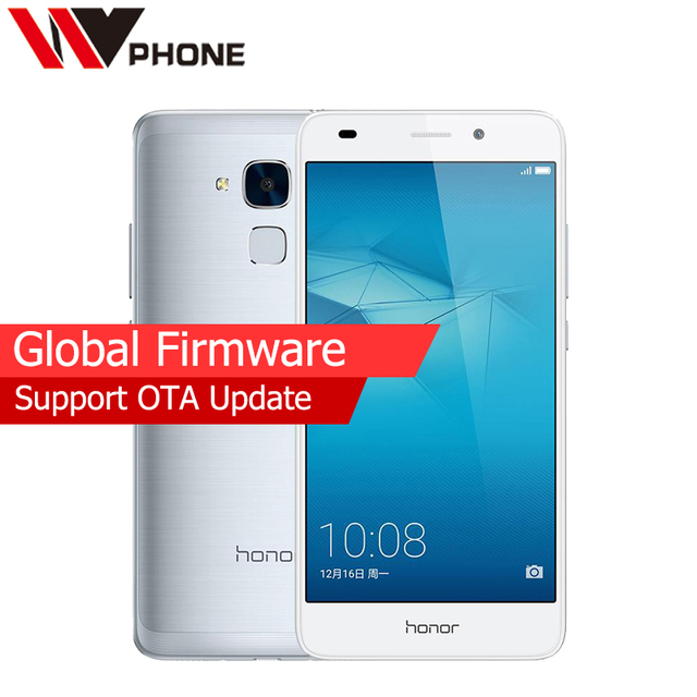 "Global Firmware Original Huawei Honor 5C Octa Core Mobile Phone 5.2"" 1080P 2G RAM 16G ROM 8.0MP 13.0MP 3000mAh Fingerprint ID"