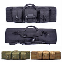 Outdoor Hiking Hunting Accessories Bag Rifle Case Tactical Gun Bag Airsoft Shooting Gun Carry Square Protection Backpack 3 Color