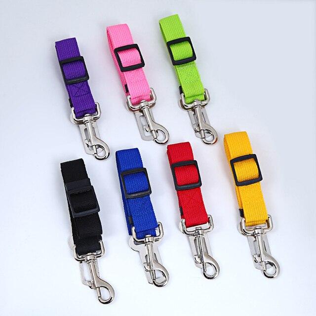 7 colori del Cane Del Gatto di Sicurezza Auto Cintura di Sicurezza Harness Regol