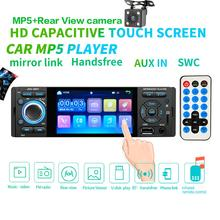 Car Radio 1din jsd 3001 autoradio 4 inch Touch Screen Audio Mirror Link Stereo Bluetooth Rear View Camera usb aux Player
