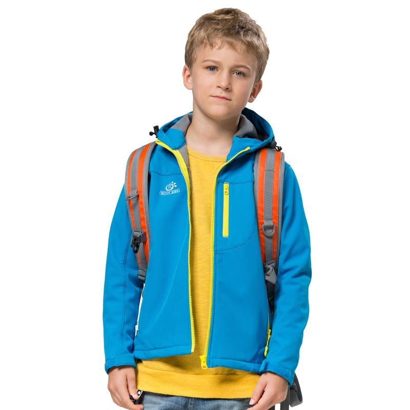 af9750bb34 Children Winter Softshell Hiking Jackets Kids Girls Boys Waterproof Thermal  Coat Outdoor Sports Camping Ski Brand Clothing VC002-in Hiking Jackets from  ...