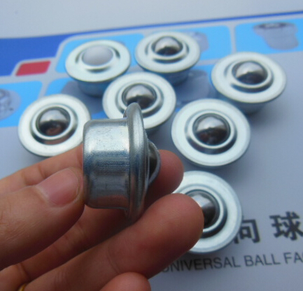 10 peças/lote 24mm Touro Olho Bovina Bola Roda Universal Rolamento De Esferas Bolas 5/8 H Transporte Rodada Universal panela Redonda Bola