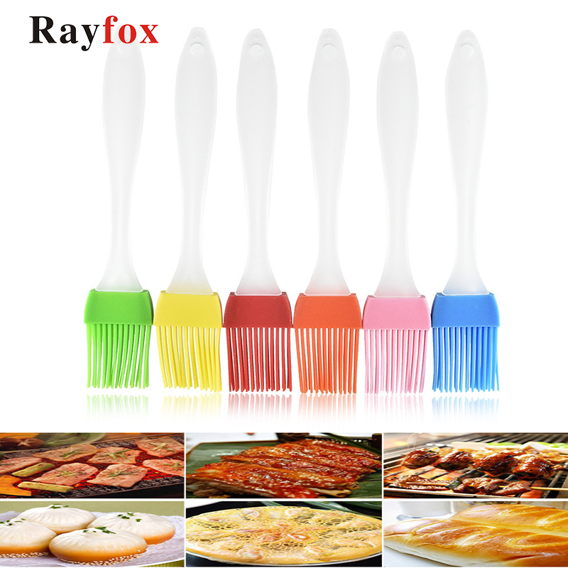 Kitchen Accessories Silicone Basting Brush Baking Bakeware Bread Cook Brushes Pastry Oil BBQ Basting Brush Kitchen Gadgets Tool