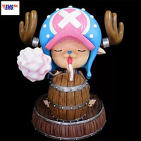 ONE PIECE The Straw Hat Pirates Marshmallow Tony Tony Chopper 1/1 GK Resin Statue Action Figure Collection Model Toy X244