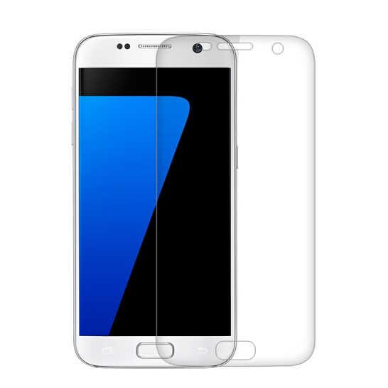 قسط الزجاج المقسى لسامسونج غالاكسي S3 S4 S5 S6 S7 جراند برايم واقي للشاشة HD طبقة رقيقة واقية