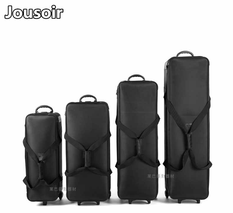 Photo Camera Video Trolley Case Thick Padded Studio Photography Flash Light Mulit-function Carring Bag for Tripod Flash CD05 Y