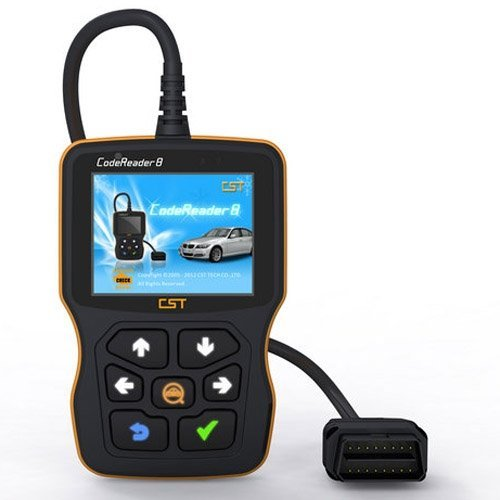 Wholesale CST Code Reader 8,Code reader VIII Portable universal auto diagnostic code reader8 free shipping