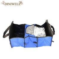 Diniwell طوي متعددة مقصورة النسيج سيارة شاحنة فان suv سلة صندوق تخزين منظم مع برودة مجموعة حقيبة تخزين لل سيارات