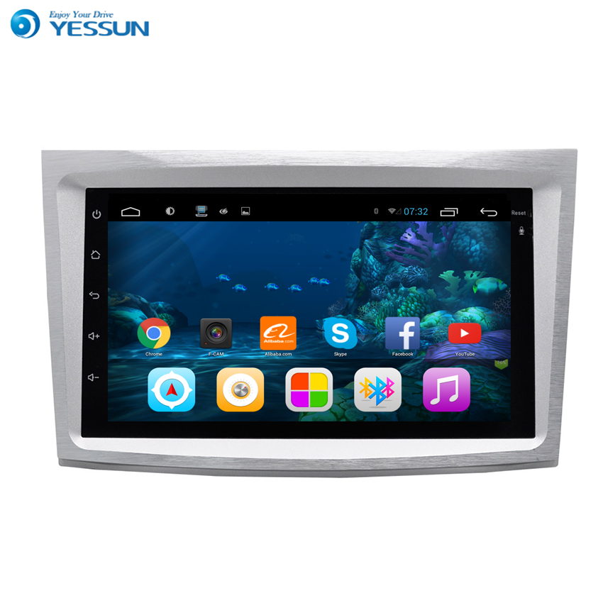 YESSUN For Subaru Old Outback 2000~2014 Android Car Navigation GPS HD Touch Screen Stereo Player Multimedia Audio Video Radio yessun for mazda cx 5 2017 2018 android car navigation gps hd touch screen audio video radio stereo multimedia player no cd dvd