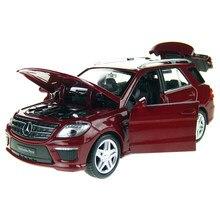 1:32 suv ml63 simulação brinquedo modelo de carro liga puxar para trás crianças brinquedos genuíno licença coleção presente fora de estrada veículo crianças brinquedo