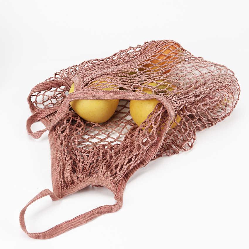 1 bolsa reutilizable de la compra de la fruta de la protección del medio ambiente