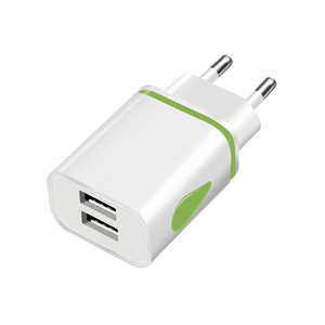 Image 3 - USB Charger Wall Chargers 5V 2.1A Adapter Charing For iPhone 11 XR XS Max EU Plug LED USB Phone Charger For Xiaomi mi note 10