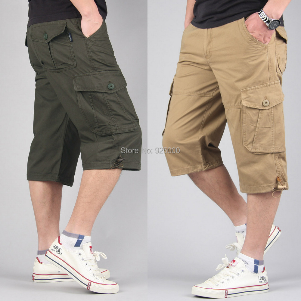 mens capri pants fashion - Pi Pants