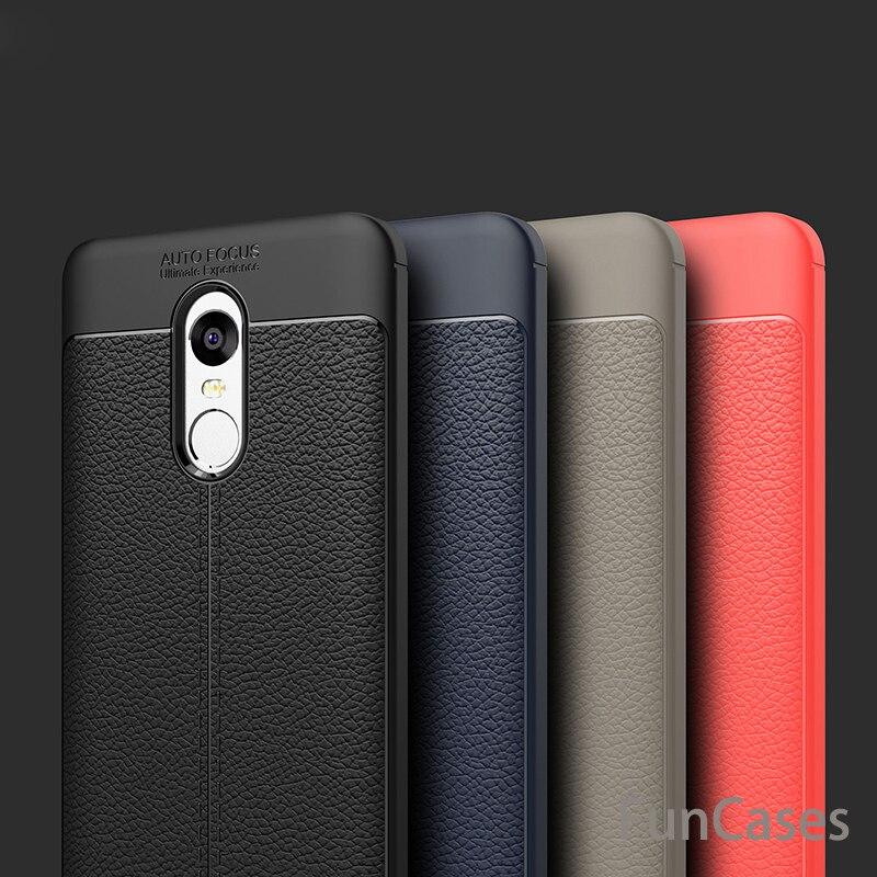 For Xiaomi Redmi 4X 4A 5A 4 Pro 5 Plus MiA1 case Luxury Leather Carbon Fiber For Xiaomi Redmi Note 4X Note 4 Global Version Mi6