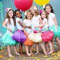 2017 Free Shipping Baby Girls Chiffon Fluffy Pettiskirts Tutu Princess Party Skirts Ballet Dance Wear Kids Petticoat Clothes