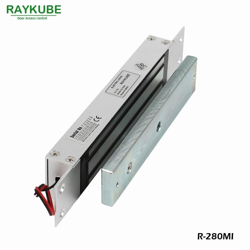 RAYKUBE 280KG (600lbs) Magnetverschluss mit Einsteckschloss für Dooe - Schutz und Sicherheit - Foto 2