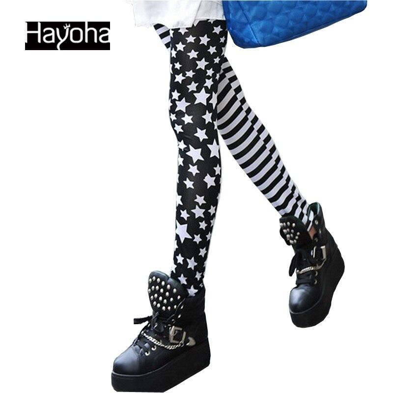 HuMore Fitness Gothic Women Leggings 2018 Stars Leggings Fashion Pants Winter Leggings FW95