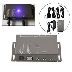 Image 1 - 2019 Infrarot fernbedienung Extender 6 Strahler 1 Empfänger Versteckte IR Repeater System Kit DC