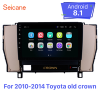 Seicane 9 Inch Android 8.1 Car GPS Navigation radio For 2010 2014 Toyota old crown Left Hand Driving Car Autostereo mirror link