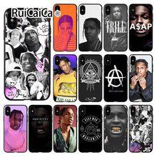 Ruicaica A$AP Asap Rocky  Rapper Painted Beautiful Phone Accessories Case for iPhone X XS MAX 6 6s 7 7plus 8 8Plus 5 5S SE XR