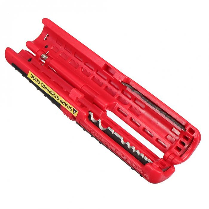 Коаксиальный кабель провода ручка резак для зачистки Ручные плоскогубцы инструмент для зачистки кабеля HYD88