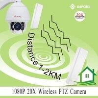 IMPORX OEM FULL HD 1920 1080 20x Optical Zoom Pan Tilt H 264 Ptz Wifi Ip
