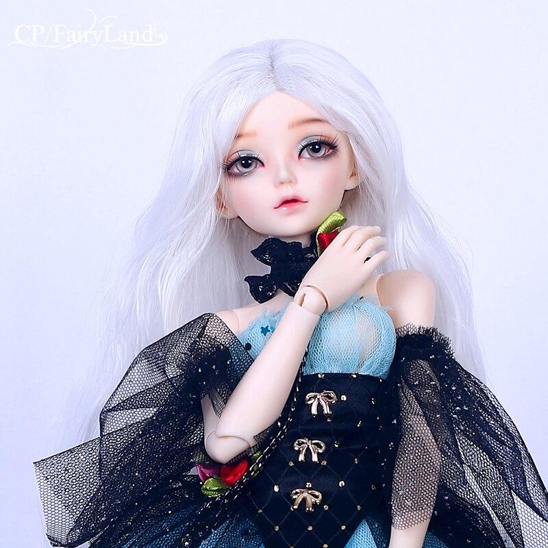 Frete grátis minifee ria bjd boneca 1/4 fairyline halloween bruxa opções para fullset pessoal chifres asas meninas resina brinquedo fairyland