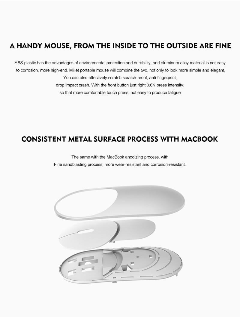 ماوس لاسلكي صغير الحجم من انتاج شركة شيومي 4