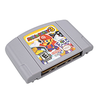 Marioed Party 3 English Language For 64 Bit EU USA Version Video Game Cartridge Console