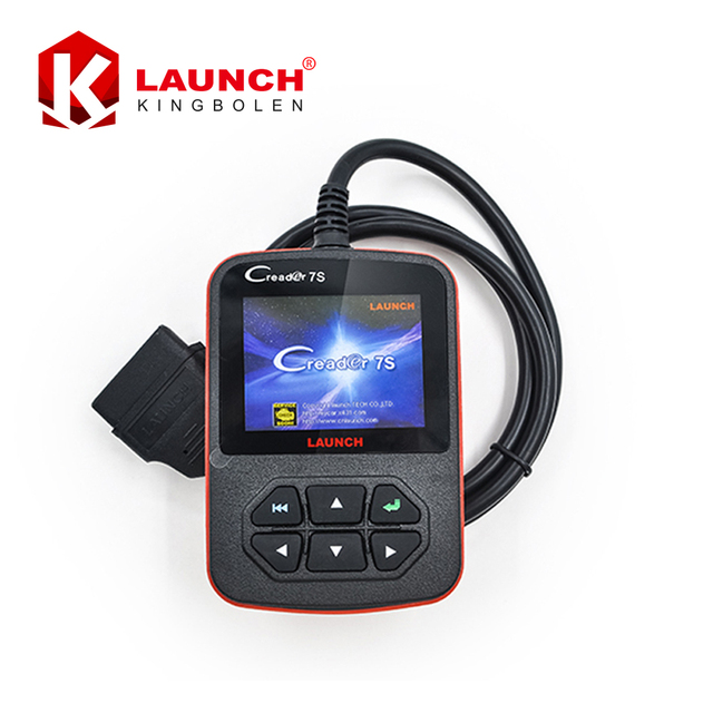 Original Launch x431 Creader 7s car OBD 16pin Code Reader+OIL/EPB/BAT Reset Function x-431 Creader VII Plus Update online