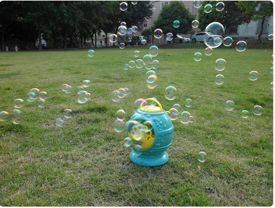 Electronic-automatic-bubble-machine-blue-plastic-bubble-blowing-soap-bubbles-baby-toys-5