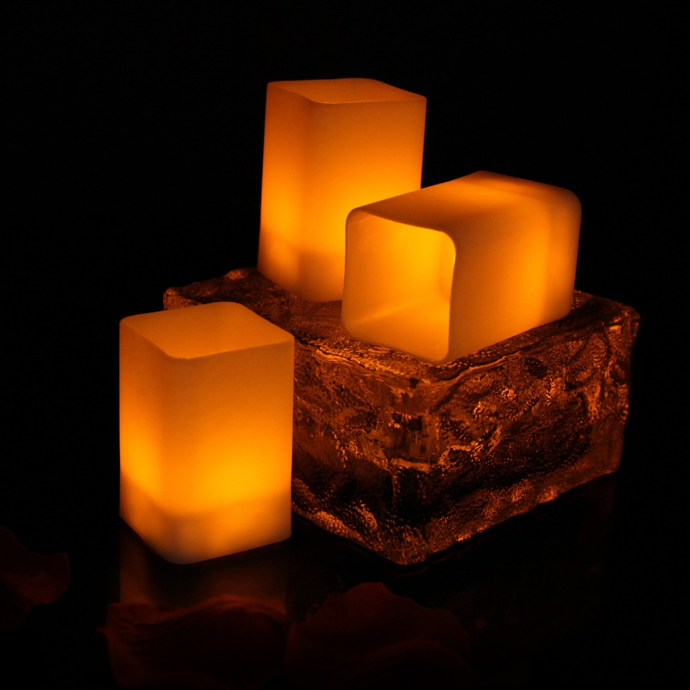 8958062552_1650456754  12pcs Flickering LED Candles Sq. Pillar Faux Candle Electrical Tealight for Residence Decor Wedding ceremony Events HTB1