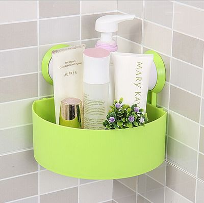 High Quality Bathroom Accessories Cute Bathroom Corner Storage Rack  Organizer Shower Wall Shelf With Suction Cup In Storage Shelves U0026 Racks  From Home ...