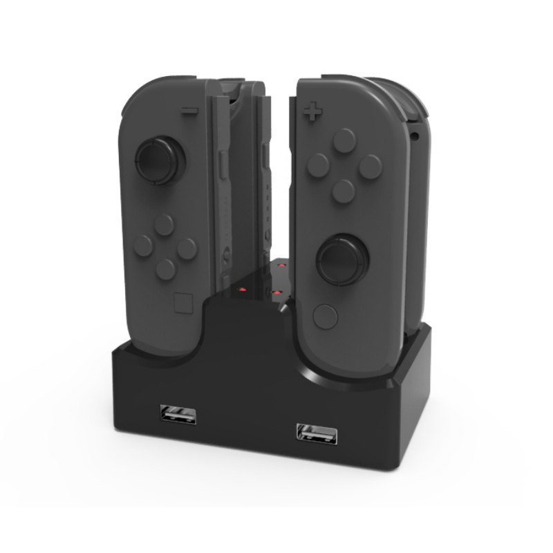 4-in-1 Charge 4 Handle Seat Charge Game Console Charging For Nintendo Switch Charge Left And Right Handle Cradle