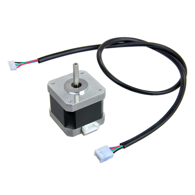 4-Lead Nema 17 Stepper Motor 42SHD0217-24B20 1.5A Motor  for 3D Printer XYZ Axis
