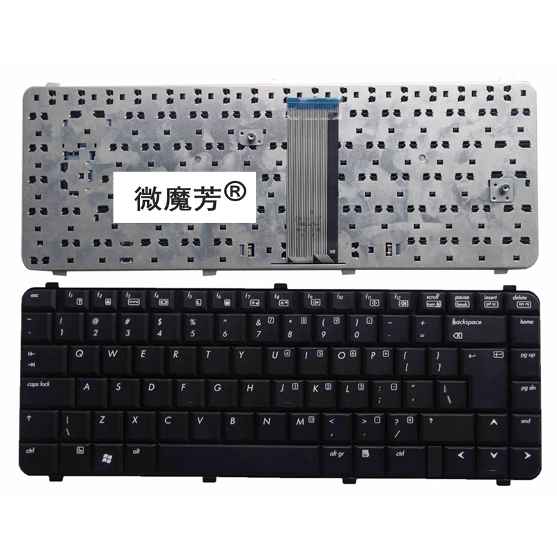 UI Black New English Replace laptop keyboard FOR HP 6530S 6530 6531s 6730S 6735S 6535S 6731 6535 6730 6735