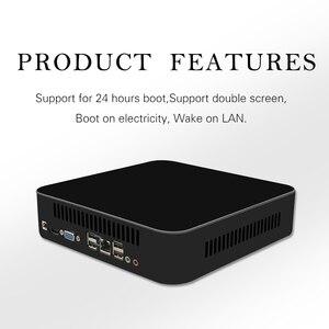 Image 2 - MSECORE tarjeta de vídeo dedicada para videojuegos, Mini PC con Windows 10, ordenador de escritorio, barebone, Nettop, linux, 4K, wifi, I7 4700HQ
